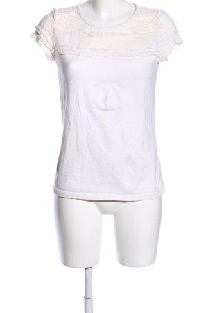 Rainbow T-Shirt weiß-wollweiß Casual-Look