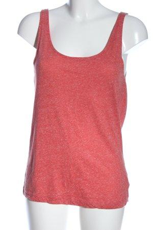 Rainbow Trägertop rot-weiß meliert Casual-Look