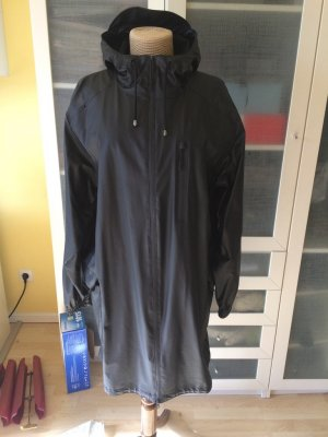 Rains Heavy Raincoat black polyamide
