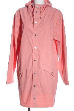 Rains Regenjas roze casual uitstraling