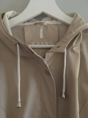 Rains Heavy Raincoat beige polyurethane