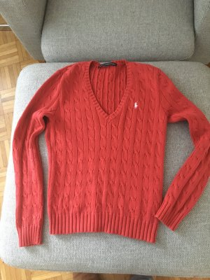 Ralf Lauren Sport Pullover rot Gr. M