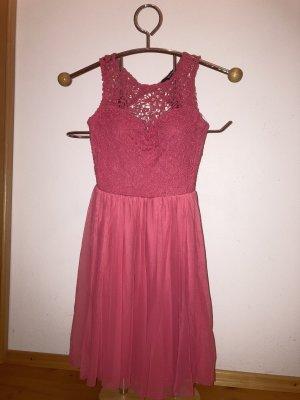 Rallye Weil Kleid (flamingofarbig)
