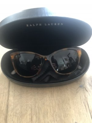Ralph Lauren Gafas de sol ovaladas marrón-verde oscuro