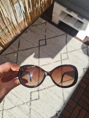 Ralph Lauren Oval Sunglasses black-brown