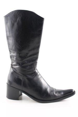Ralph Harrison Absatz Stiefel schwarz Casual-Look