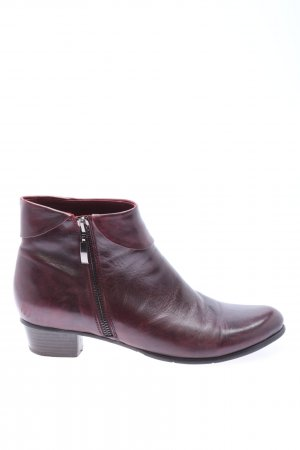 Ralph Harrison Booties rot Casual-Look