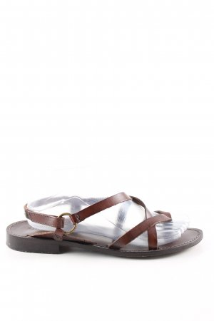 Ralph Harrison Strapped Sandals brown casual look