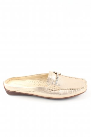 Ralph Harrison Slipper goldfarben Casual-Look