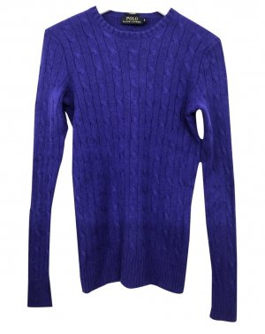 Ralph Lauren 100% Kaschmirpullover Trendfarbe Lila