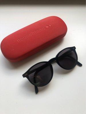 Ralph Lauren Okrągłe okulary przeciwsłoneczne czarny