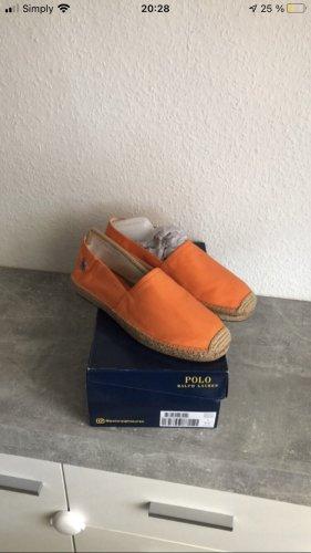 Polo Ralph Lauren Slip-on Shoes orange-light orange