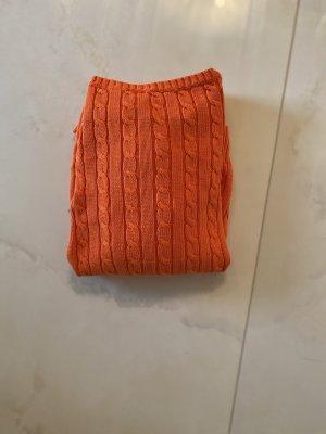 Ralph Lauren Jersey trenzado naranja neón