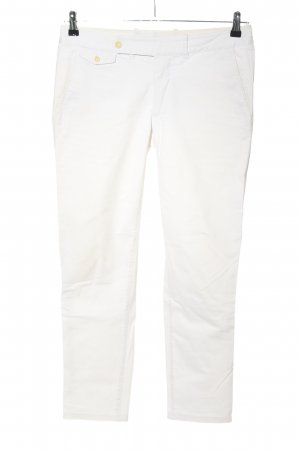 Ralph Lauren 7/8 Length Trousers white casual look