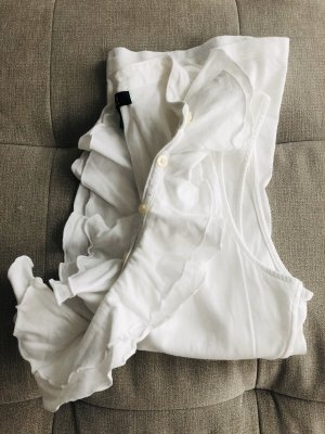 Ralph Lauren Top con bretelline bianco