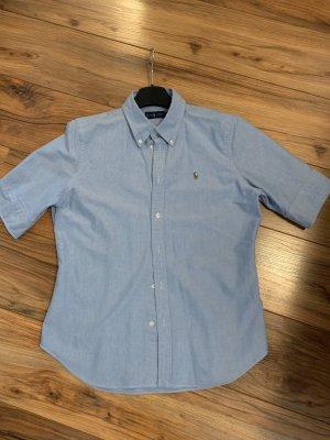 Ralph Lauren Chemise à manches courtes bleu clair