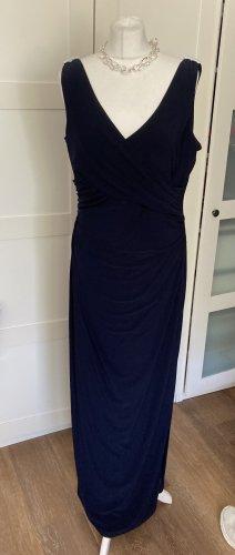 Ralph Lauren Evening Dress dark blue polyester
