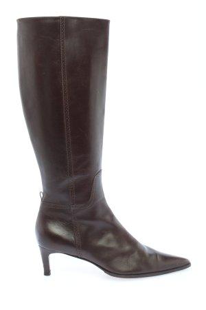 Ralph Lauren Absatz Stiefel braun Casual-Look