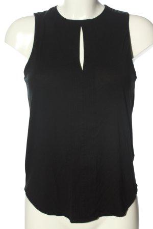 Ralph Lauren ärmellose Bluse schwarz Casual-Look