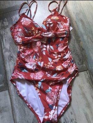 Ralph Lauren Zwempak lichtrood-rood