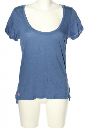 Ralph Lauren Basic-Shirt blau Casual-Look