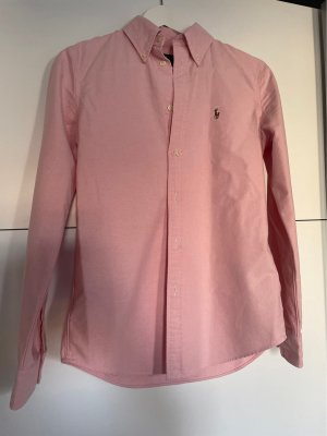 Ralph Lauren Baumwoll- Hemd in rosa