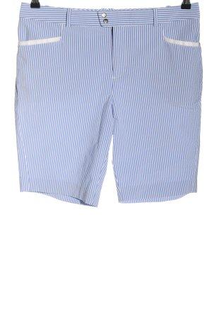 Ralph Lauren Bermuda blau-weiß Streifenmuster Casual-Look