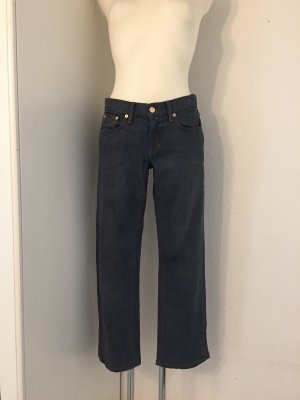 Ralph Lauren Jeans a gamba dritta blu-grigio ardesia