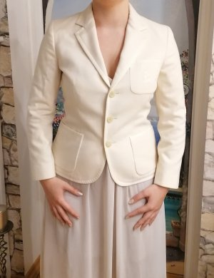 Polo Ralph Lauren Wool Blazer natural white