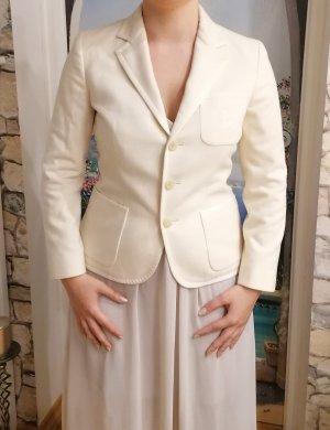 Polo Ralph Lauren Blazer en laine blanc cassé