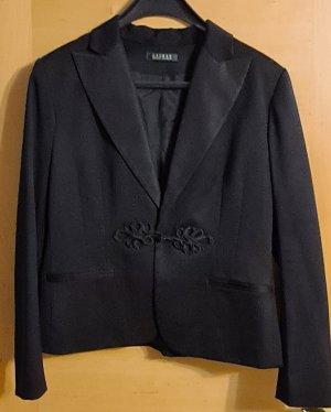 Lauren by Ralph Lauren Klassischer Blazer black wool