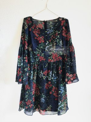 Ralph Lauren Blumenkleid mit Unterkleid (38-42)