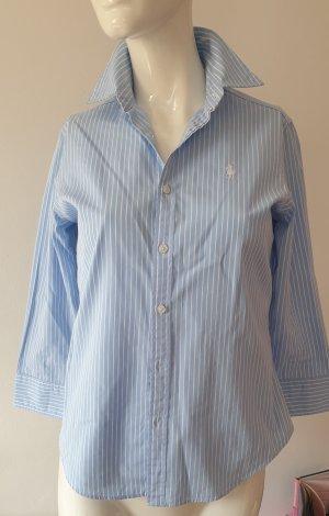 Ralph Lauren Bluzka ze stójką biały-błękitny
