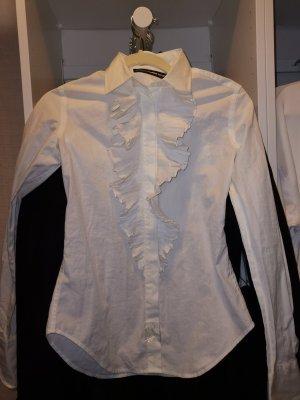 Ralph Lauren Ruche blouse wit