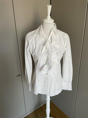 Ralph Lauren Blouse à manches longues blanc