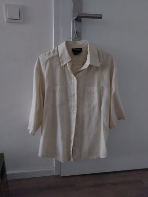 Ralph Lauren Blusa in lino beige chiaro