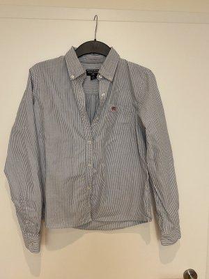 Polo Ralph Lauren Blusa-camisa blanco-azul celeste