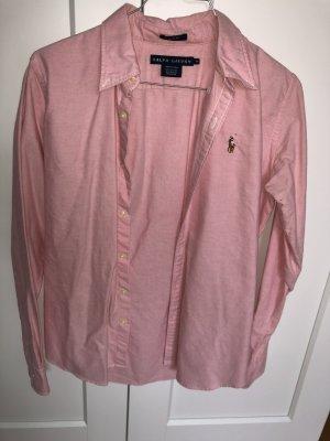 Ralph Lauren Bluse Held rosa
