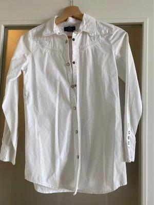 Ralph Lauren Bluse in weiß im Country Style