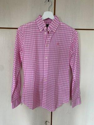 Ralph Lauren Camicia a scacchi rosa Cotone