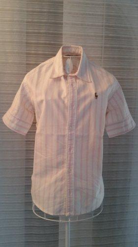 Ralph Lauren Bluse rosa-weiß