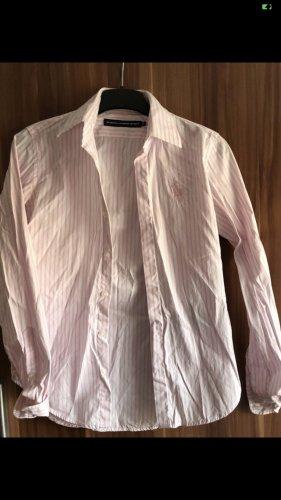 Ralph Lauren Sport Stand-Up Collar Blouse white-light pink