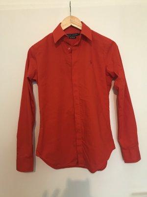 Ralph Lauren Bluse tailliert in rot, Größe 6