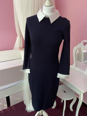 Ralph Lauren Longsleeve Dress white-dark blue