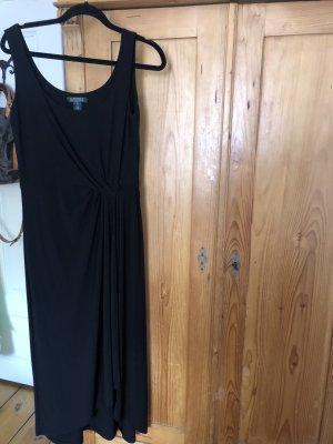 Ralph Lauren Vestido elástico negro