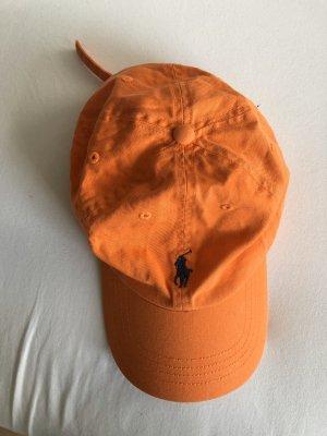 Ralph Lauren Casquette de baseball orange-bleu foncé