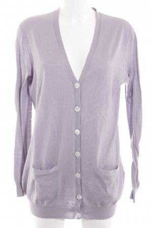 Ralph Lauren Cardigan lila Casual-Look