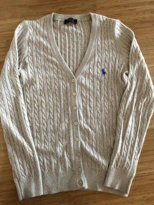 Polo Ralph Lauren Jersey trenzado beige Algodón