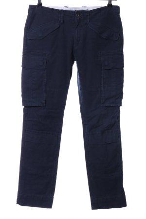 Ralph Lauren Cargohose blau Casual-Look