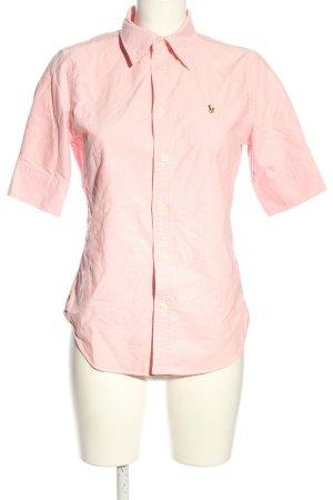 Ralph Lauren Kurzarm-Bluse pink Business-Look